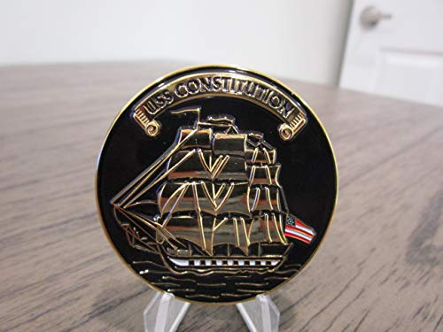 United States Navy USS Constitution Once a Chief Always a Chief Navy Chief CPO Challenge Coin