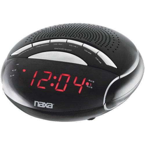 naxa electronics projection alarm clocks NAXA NRC170 Digital Alarm Clock with AM/FM Radio