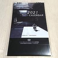 ハーレーダビッドソン 2021年(令和3年) 卓上カレンダー (HARLEY DAVIDSON) 二輪・バイク