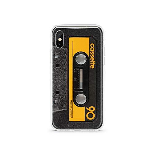 Per iPhone XS 11 Pro Max 5S caso della copertura XR silicone trasparente TPU per iPhone X 6 6S 7 8 più divertente Birra fotocamera Coppia Cases-a metà,per iPhone 5S 5 SE,MS010