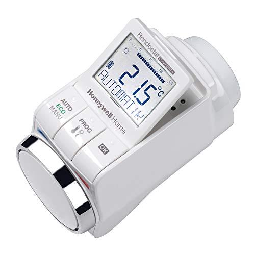 Honeywell Home HR30 Programmierbarer Heizkörperregler Rondostat Comfort+, Weiß