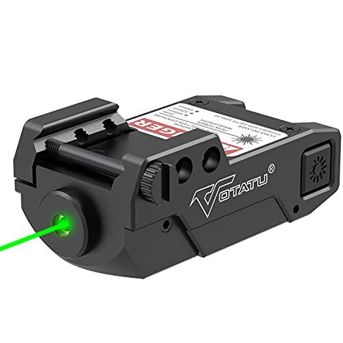Votatu H3L-G Green Laser Sight, Ultra Low Profile Picatinny...