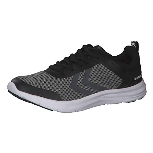 Hummel Unisex-Erwachsene KIEL Sneaker, Grau (Black/Grey Melange 2393), 44 EU