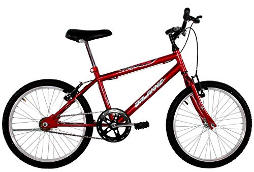 Bicicleta Aro 20 Infantil Menino Cross Boy Vermelha