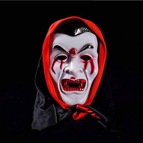 DFLMBV Bola Maquillaje Halloween Horror Máscara mueca