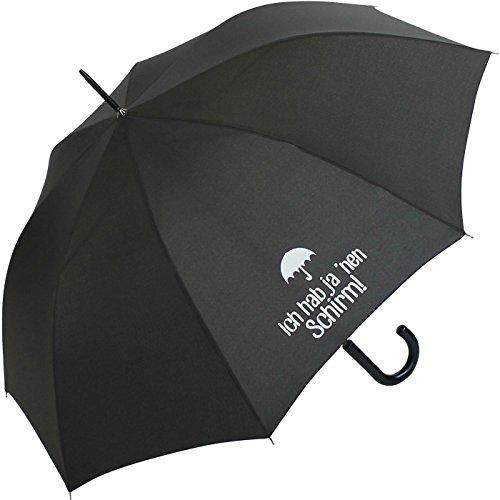 Stockschirm für Damen und Herren mit Automatik - Bedruckt Ich hab ja NEN Schirm