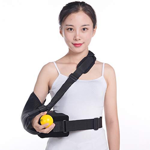 Xergou Armstütze Schultergurt Verstellbarer, atmungsaktiver, medizinischer Armschlinge Schlüsselbeinbruch Chirurgie Luxation Gebrochen,Right