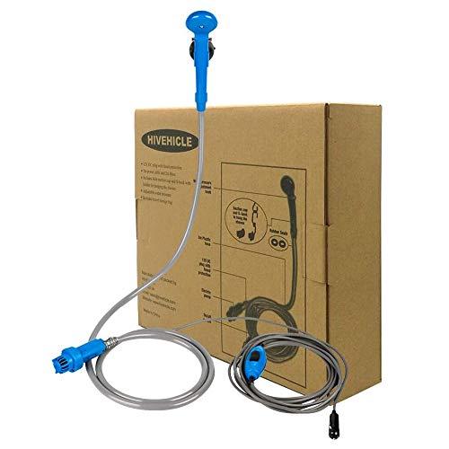 HiVehicle Portable Camping car Shower Set