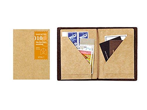 デザインフィル『トラベラーズノート パスポートサイズ リフィル クラフトファイル(14334-006)』