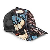 化物 お化け 怖い キャップ メンズ レディース ベースボールハット スポーツ帽子 シンプル 野球帽 バイザー ハット カジュアル CAP 帽子 男女兼用 おしゃれ 軽薄 アウトドア