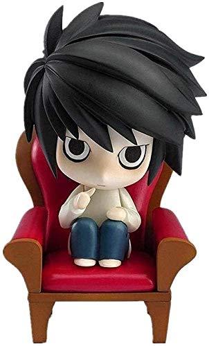 Muñeca Death Note Figura L Figura Anime Chibi Figura Figura de Acción