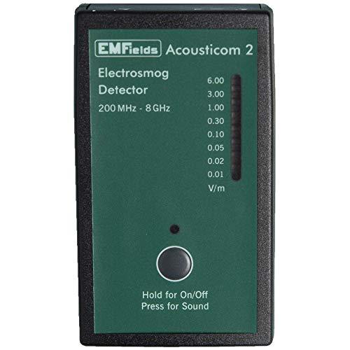 Acousticom 2 Meter RF Radiofrequenzmesser emf Schutz. Erschwingliche, kleine, präzise