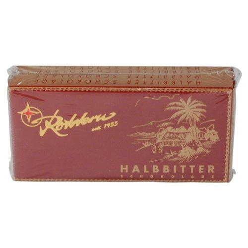 Rotstern GmbH & Co. KG: Rotstern Schokolade - Halbbitter - 1 Packung mit 4 Ta...