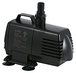 EcoPlus 1056 GPH (3785 LPH, 70W) Submersible Water Pump - Best Fish Pond Pumps