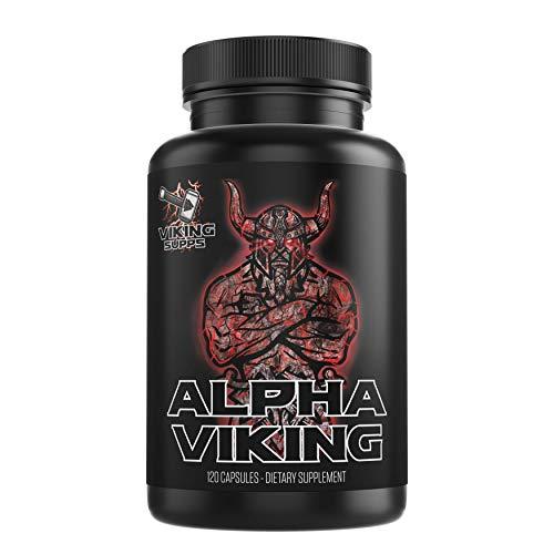 Viking Supps Alpha Viking with Maca, Tribulus, Tongkat Ali for Men