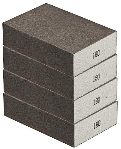 Schleifschwamm 4er Set FEIN, robuste Körnung 180 I DIY, Handschleifer, für viele Materialien geeignet I hochwertiger Handschleifklotz, Schleifklotz, Schleifblock