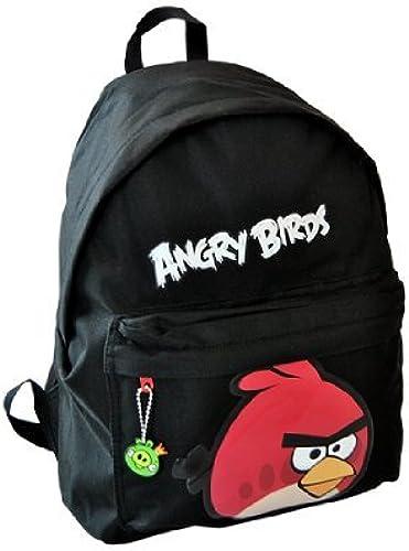 SAC A DOS ANGRY BIRDS NOIR GRAND MODELE