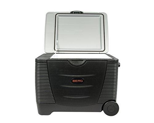 Berg Large Electric Portable 45 Litre 12V 240V Cool Box / Bag Warm Cooler...