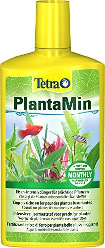 Tetra PlantaMin 500 ml, Sostanze Nutritive Fondamentali, per una Colorazione Verde e Rossa Intensa delle Foglie