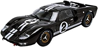 1966 Ford GT-40 MK 2 Black #2 1/18 by Shelby Collectibles SC408