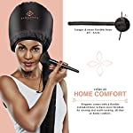 Beauty Shopping Eleganty Soft Bonnet Hood Hairdryer Attachment with Headband that Reduces Heat Around