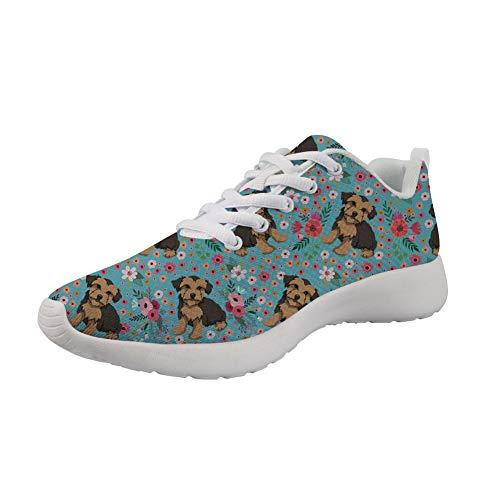 Woisttop Zapatillas de deporte unisex para correr, caminar, senderismo, tela transpirable, zapatos deportivos cómodos, color, talla 42.5 EU