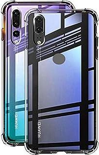 For Huawei Y9 prime 2019 King Kong Cover Anti-Burst Super 4 Corner Protection Anti-Burst Super -Transparent