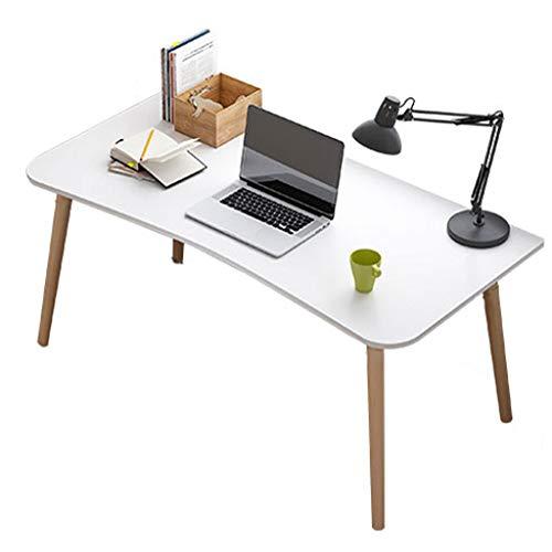 Zzmop Escritorio de Computadora,Mesa de Estudio para Computadora Portátil,Mesa de Tocador de Maquillaje,Espacio de Almacenamiento Grande,para Oficina En Casa.