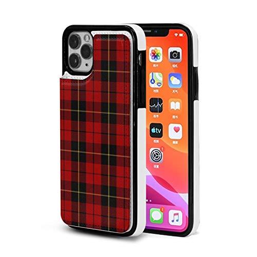Clan escocés Wallace - Funda para iPhone 11 Pro Max con tarjetero para mujer y hombre