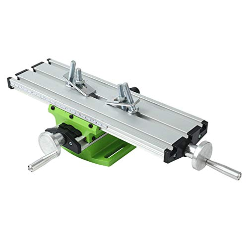 XIONGGG Universal Bench Drill Multifunction Worktable Milling Working Table Milling Machine Compound Drilling Slide Table for Bench Drill