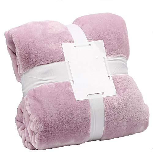 Manta de sofá Cama cálida y Elegante para el hogar,Vacaciones/campamentos/picnics/Todos proporcionan Seres Queridos.
