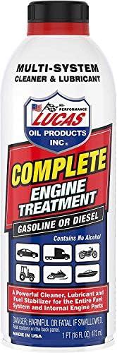 Lucas Oil 10016 Complete Engine Treatment,16 fl. oz