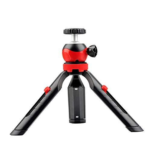 DIGITEK DTR 200 MT Portable & Flexible Mini Tripod | With 360 Degree Ball Head | For Smart Phones | Compact Cameras | GoPro | Maximum Operating Height: 7.87 Inch| Maximum Load Upto: 1 kgs (Black/Red) (DTR-200MT)