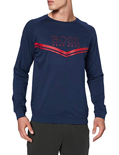 BOSS Herren Authentic Sweatshirt, Dark Blue402, L