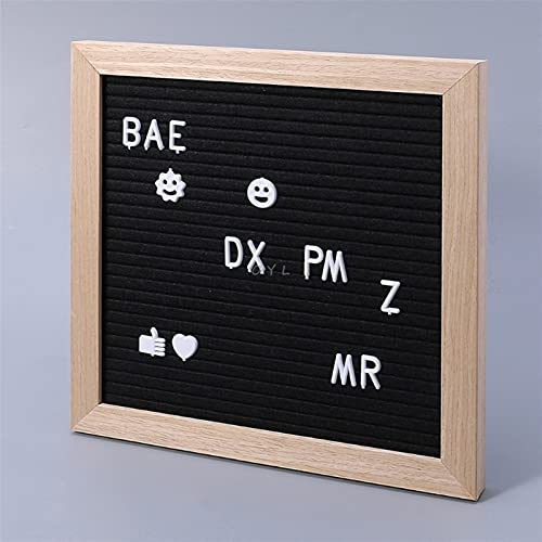 Message Board Decor Board Frame White Letters Symbols Number Characters Bag