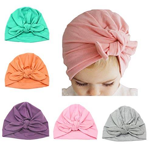 Baby Girl Hat with Rabbit Ears Bow Hat Toddlers Cap