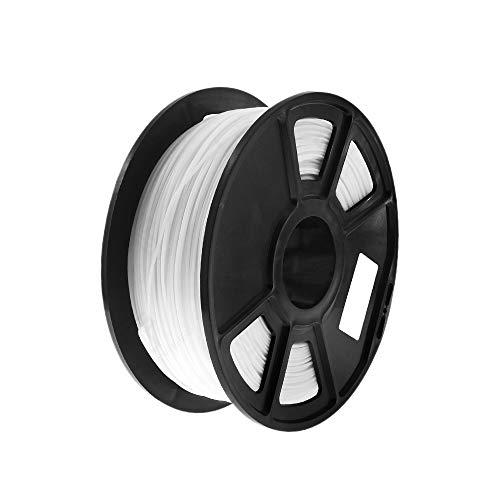 Gaetooely White 1Kg-Pla Filament 1.75Mm Plastic Rubber Consumables Material 3D Carbon Fiber 3D Filament 1.75 Impressora 3D Filament for Print