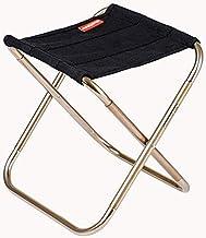 KH Mini Portable Folding Stool,Ultra Light Portable Outdoor Folding Chair Storage Bag for BBQ, Party,Camping,Fishing, Trav...