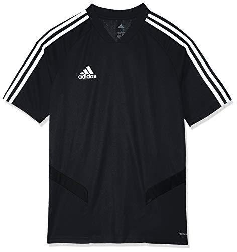 adidas TIRO19 Try Jersey, Black/White, 9-10 Years