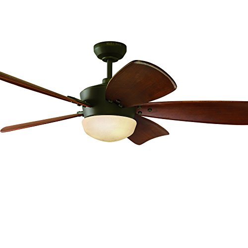 Harbor Breeze 60-in Saratoga Oil-Rubbed Bronze Ceiling Fan...