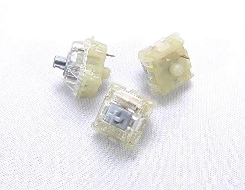BitTradeOne ADMXSVIL CherryMX メカニカルキースイッチ各色10個セット (バックライトLED対応 銀軸 10個セット)