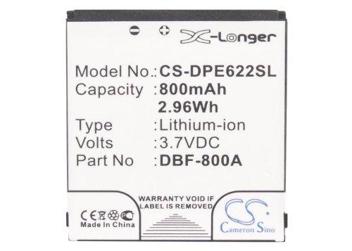 CS-DPE622SL Batería 800mAh Compatible con [Doro] 1362, 2314, 2415, PhoneEasy 1360, PhoneEasy 1362, PhoneEasy 2314, PhoneEasy 2414, PhoneEasy 2415, PhoneEasy 2424, PhoneEasy 520, PhoneEasy 520x, Phone