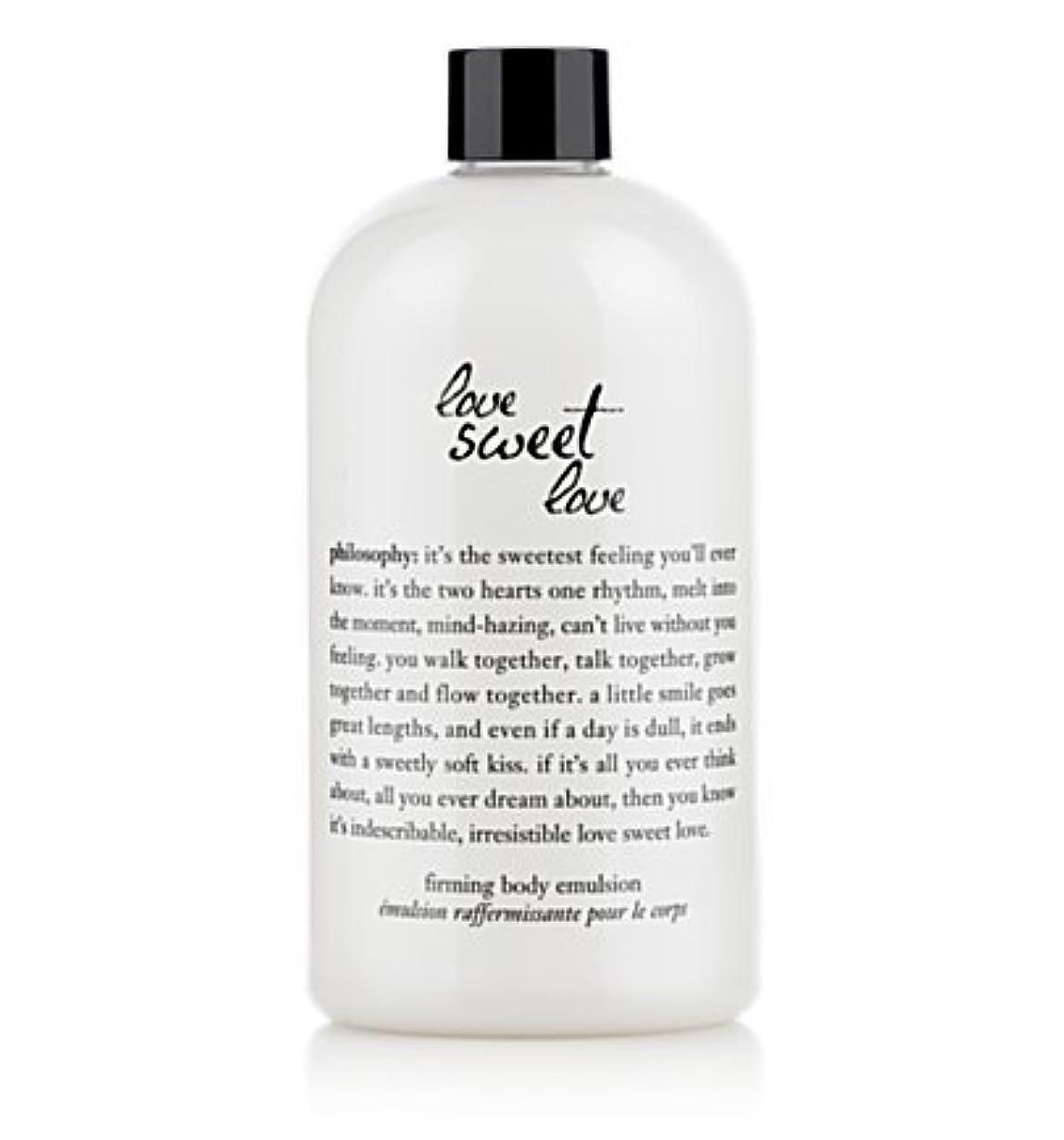 スリーブ見せます削除するlove sweet love (ラブスイートラブ ) 16.0 oz (480ml) firming body emulsion for Women