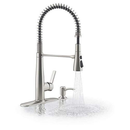 KOHLER Semiprofessional Kitchen Faucet with Soap Dispenser