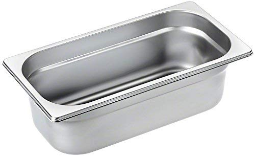 Miele DGG7 Backofen- und Herdzubehör / 2,8 Liter / edelstahl / Ungelochter Garbehälter für Dampfgarer