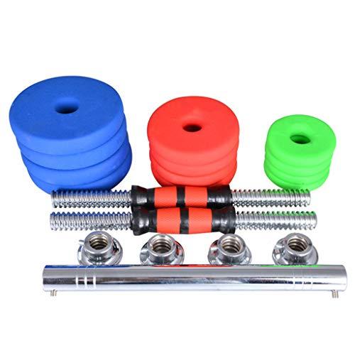 Verstellbare Hantel Langhantel Gewicht Männer Und Frauen Paar Matte Hanteln Verstellbares Gewicht Haushalt Für Body Workout Home Gym 10-20 Kg