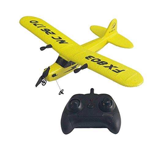YQTXDS RC Flying Glider, Axis Gyro Headless Mode RTF Remote Control EPP Foam Fixed Wingspan Aircraft Helic (Juguetes RC)