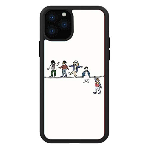 LanBaiLan iPhone 11 TPU Case with Flexible Shock-Absorbing Drop-Protection