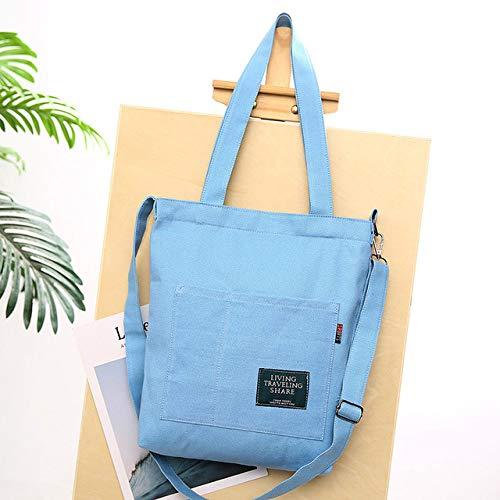 SDCVRE Bolsa de la Compra,Women Corduroy Canvas Tote Ladies Casual Shoulder Bag Foldable Shopping Bags Beach Bag Cotton Cloth Female Handbag,A