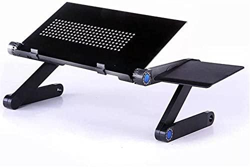 Soporte de mesa para laptop ajustable para cama Sofá de aleación de aluminio Oficina de pie Oficina ergonómica Oficina ergonómica Escritorio portátil Ligerable Portátil Portátil Portátil Compatible Po
